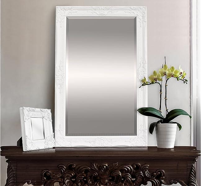 Espejo pared estilo barroco shabby chic espejo grande - Espejo grande pared ...