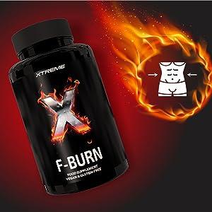 Xtreme F-BURN |Quemador de grasa 100% Natural Para Keto ...
