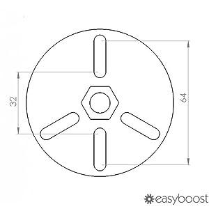 Extractor de volante de inercia universal