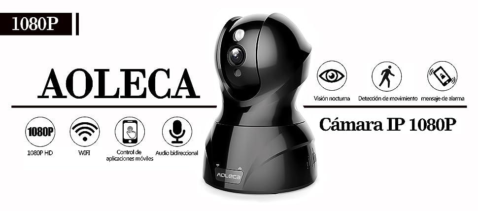 sainlogic aoleca de 826 x de 1080p IP Camera