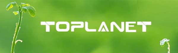 TOPLANET Lampara de Cultivo, Reflector 600W Lámpara de Planta ...