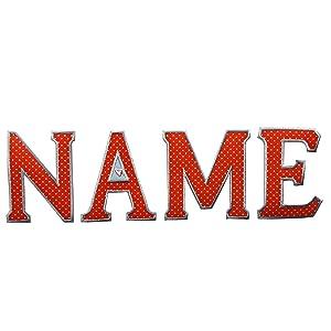 parches ropa cazadoras tela personalizados bordar nombres hacer bordados a mano futbol jeans niños