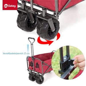 Hay dos r uedas universales en la parte delantera del carro que lo hacen adecuado para una variedad de ocasiones. Equipada con grandes r uedas, su carrito ...