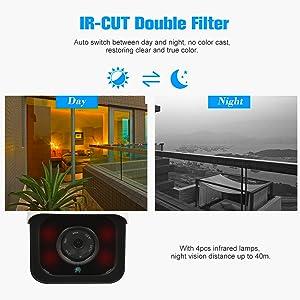 OWSOO Cámara IP Inalámbrico 720P 4G Visión Nocturna IR-Cut 3G gsm Impermeable Cámara CCTV de Vigilancia Exterior con Ranura para Tarjeta SIM
