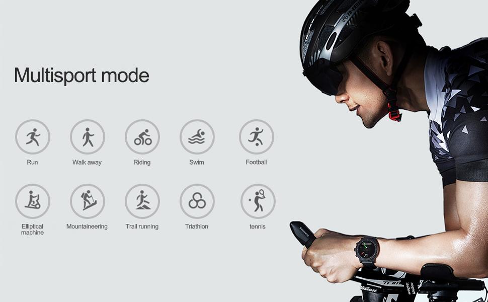 AMAZFIT Stratos 2 Smartwatch, Huami Reloj Inteligente con GPS ...