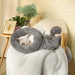 Bolsa de mascotas para saco de dormir diario del gato