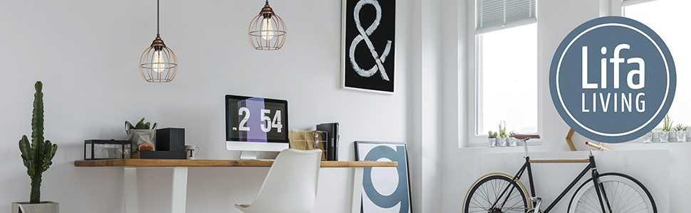 LIFA LIVING Lámpara de techo | Lámpara colgante diseño ...