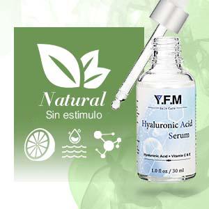 YFM Serum Facial con Ácido Hialurónico y Vitamina C & E para la Cara 30 ml - Suero Facial Antienvejecimiento y Antiarrugas