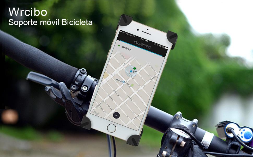 Wrcibo Soporte móvil Bicicleta, Montura Soporte Universal de ...