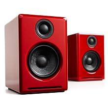 Audioengine A2+ 60W Altavoces de estantería | DAC Incorporado y ...