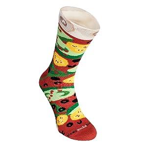ORIGINAL IDEA :) Nuestros calcetines de pizza ...