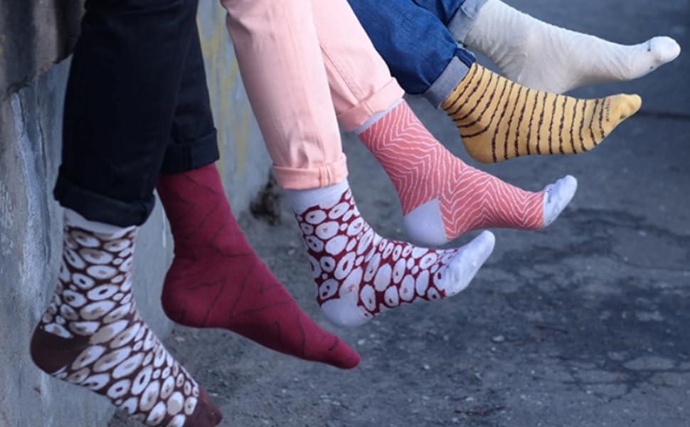 Calcetines que parecen comida son un modelo moderno en el mundo de los calcetines - como en el estilo japonés. Hemos combinado estos dos elementos para ...