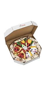 Rainbow Socks - Pizza MIX Caprichosa Vege Pepperoni Mujer Hombre - 4 pares de Calcetines: Amazon.es: Ropa y accesorios