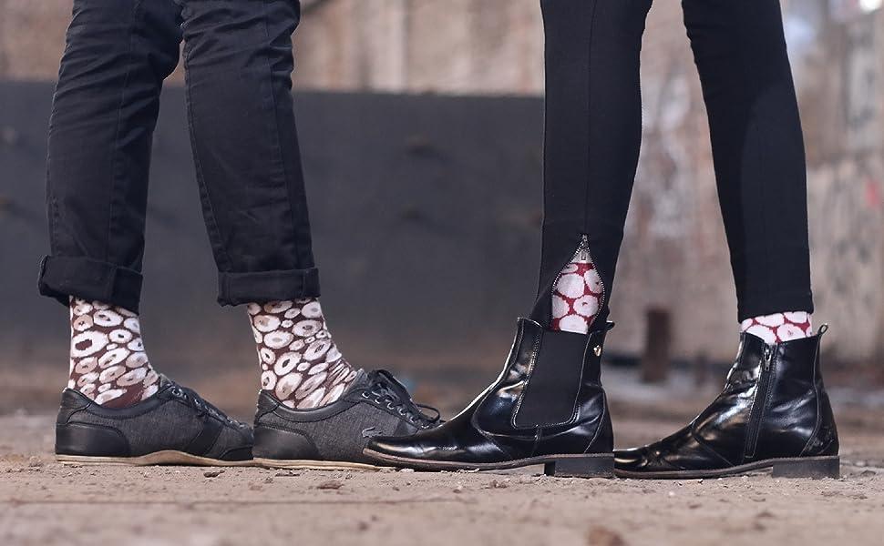 Calcetines que parecen comida son un modelo moderno en el mundo de los calcetines- como en el estilo japonés. Hemos combinado estos dos elementos para ...