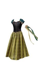 Disfraz de coronación de anna