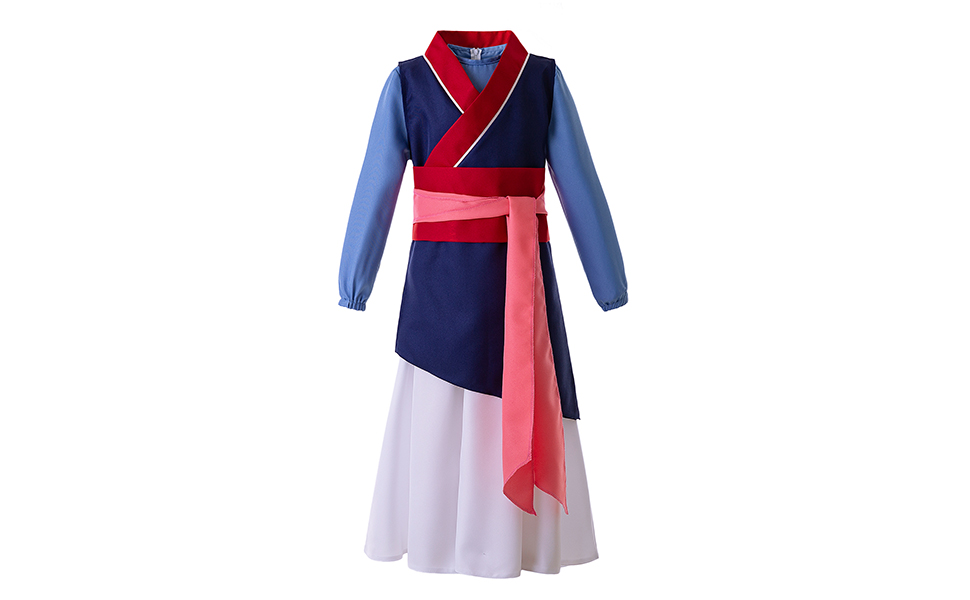 Pettigirl Costume de Princesse Chinoise h/éro/ïne de Filles