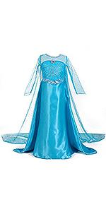 Disfraz de princesa congelada para niña