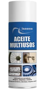 Lancero | Grasa de litio | Grasa industrial en spray para maquinaria | Mantenimiento industrial de máquinas y elementos mecánicos | Lubricante para protección anticorrosión y antióxido (400ml): Amazon.es: Bricolaje y herramientas