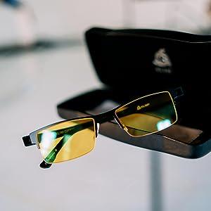 e942834aca KLIM Optics - Gafas para Bloquear la Luz Azul - Nuevas: Amazon.es ...