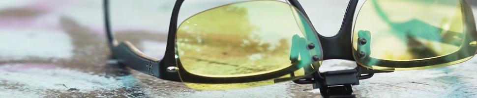 KLIM OTG - Gafas de Clip para Bloquear la Luz Azul - Nueva 2019 Versión - Alta Protección Frente a la Pantalla - Gafas Gaming para PC, Móvil, TV - ...