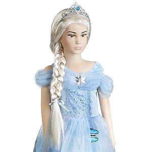 Hace a tu niña princesa y puede usarse en diferentes situaciones, como fiestas, festivales