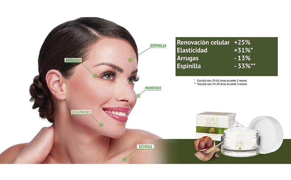 Cuidado de la piel original de cell-1 premium con extracto de ...