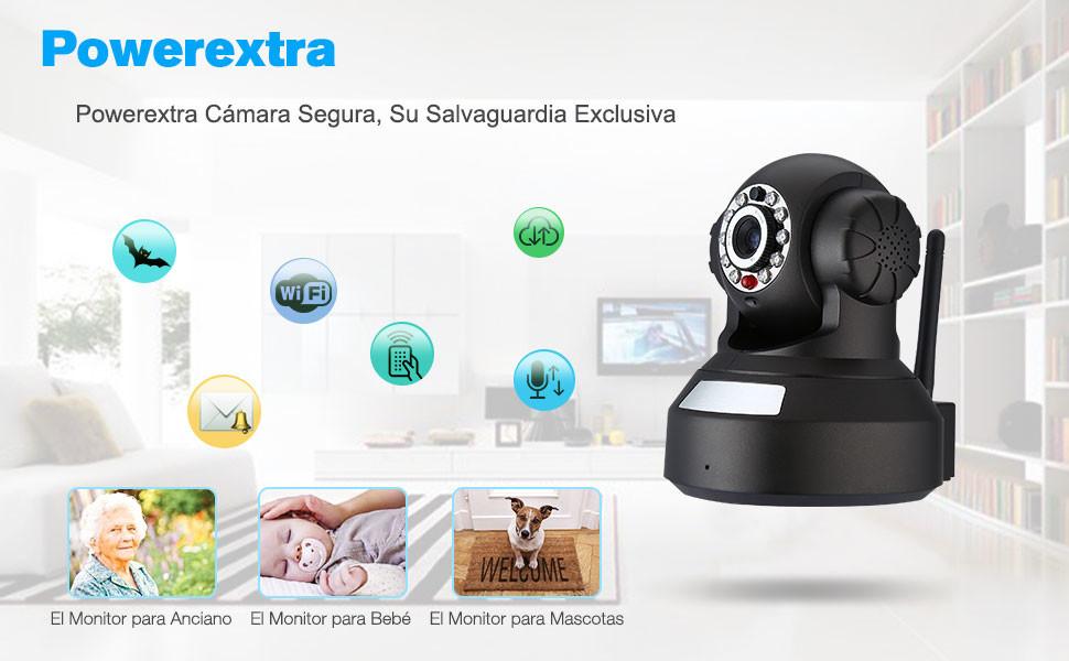 Esta cámara no tiene una tarjeta SD / TF incorporada. mensaje de alarma enviar notificaciones a la casilla de correo electrónico por foto, ...