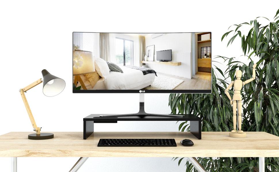 1home - Soporte de Monitor de portátil Ordenador Elevador de ...