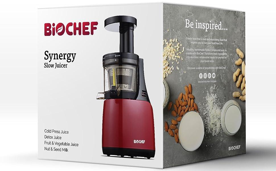 BioChef Synergy Slow Juicer - Licuadora de Prensado en Frío ...