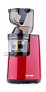 Bio Chef Atlas Whole Slow Juicer Pro – Extractor de zumos, 350W ...