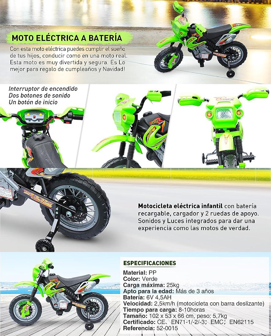 af36a3384 Moto Eléctrica a Batería para Niños y Niñas, con esta mota eléctrica puedes  cumplir el sueño de tus hijos, conducir como en una moto real.