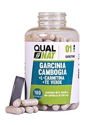 Garcinia Cambogia con L-Carnitina | HCA | Té Verde | Quemagrasas Potente Adelgazante |