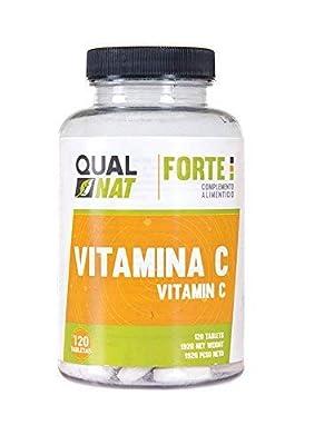 qualnat vitamina c salud natural sistema inmune forte capsulas mujeres hombres