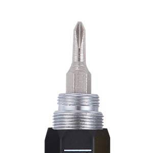Shulaner 6 en 1 Multifunción de Herramienta de metal Pluma con Regla, Bolígrafo, nivel, Stylus y 2 Destornillador, Herramienta multifunción pen Fit ...