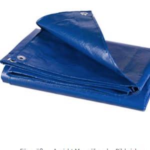 HOLISTAR Lona Impermeable de Protecci/ón Exterior 3x5m Resistente al Agua y a los Rayos UV 280g//m/² Blanco