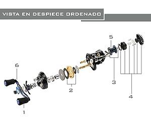 Características: 1. 12 excelentes rodamientos de bolas resistentes a la corrosión, incluyendo 2 rodamientos de bolas NMB y 10 rodamientos de bolas de acero ...