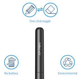 Lápiz sin batería  P01 funciona como una lápiz real