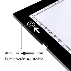 Huion A3 Caja de luz para calcar 23.62 pulgadas de Light Pad con clip de papel y papel de calco para Mesas de luz para calcar: Amazon.es: Juguetes y juegos