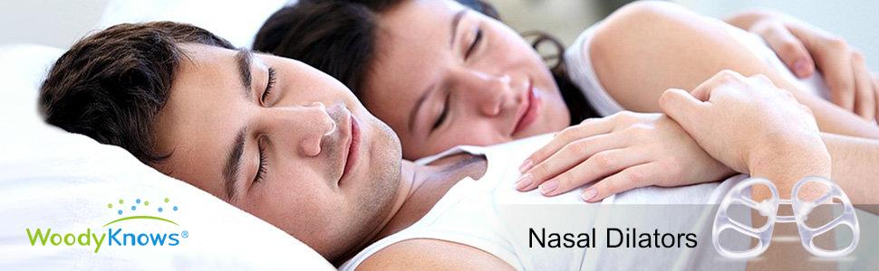 WoodyKnows (Paquete de 3) Dilatadores Nasales Antirronquidos Dilatadores Nasales Esparcidores Nasales Dispositivo Antirronquidos Alivio de la ...