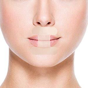 WoodyKnows Lote de 24 Tiras para la boca Tiras para dormir antirronquidos Cinta adhesiva Tiras para la boca Ayuda a la respiración nasal Reduce la ...