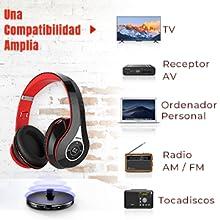 Mpow 059 Auriculares Inalámbricos para TV con Transmisor Bluetooth ...