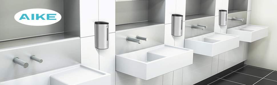 AIKE - Dispensador de jabón automático de Pared