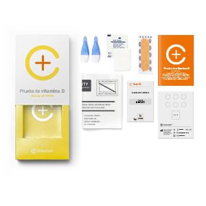 Kit para test de análisis de vitamina D de CERASCREEN – medir el nivel de vitamina D3 en casa | Test de vitamina D | Comprar ahora online un test de ...
