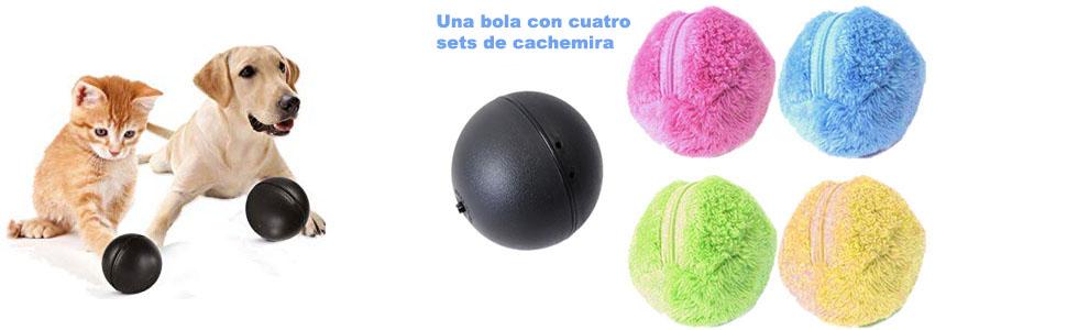 KOBWA Magic Roller Ball para Perros Pelota de Juguete eléctrica ...