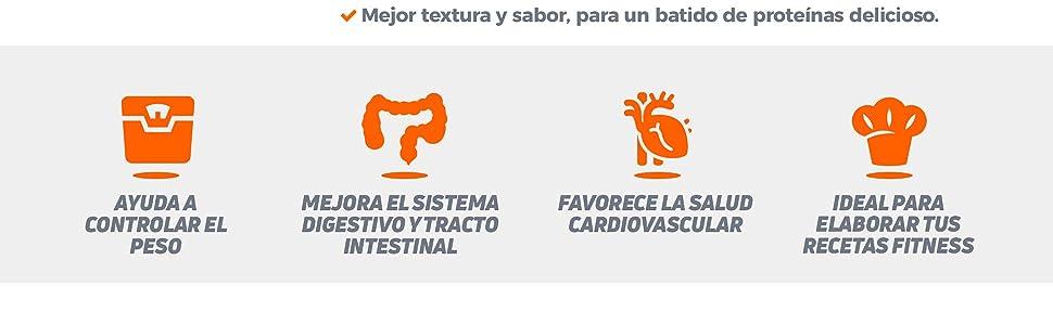 Harina de Avena de HSN | Oatmeal | Instantánea Ideal para Batidos, Tortitas de Avena y Claras, Recetas Fitness | De Sabores, En Polvo, Vegana, Sin ...
