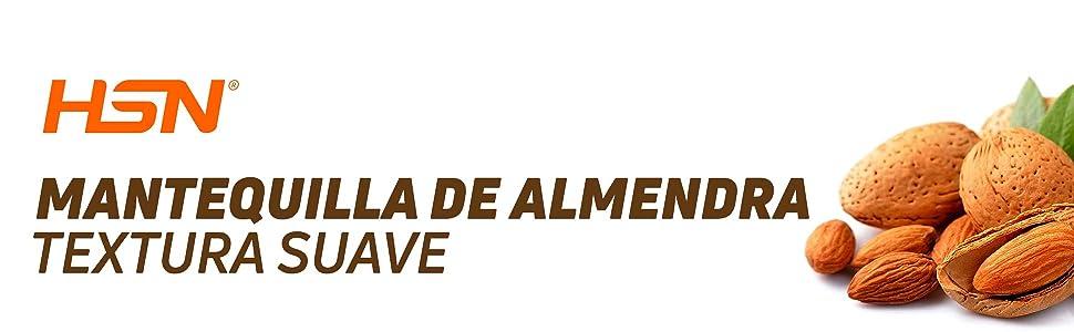 MANTEQUILLA DE ALMENDRA SUAVE 1Kg