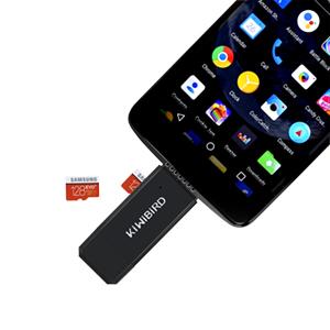 KiWiBiRD USB 3.1 Tipo C y USB 3.0 Lector de trajetas 8 en 1 para SDXC, SD, MMC, RS-MMC, SDHC, Micro SD, Micro SDXC, Micro SDHC [Compatible con ...