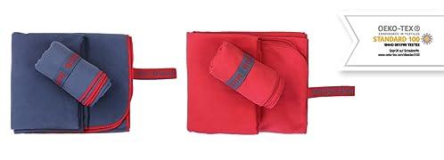 HAMAL - nuestras toallas de microfibra son el compañero práctico e ideal para los viajes, yoga, aire libre, senderismo, deportes, gimnasio, camping, ...