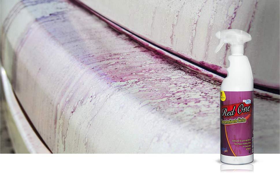 RedOne Descontaminante Férrico Pintura Coche Abrillantadores, Ceras, Sintéticos y Coatings Detail