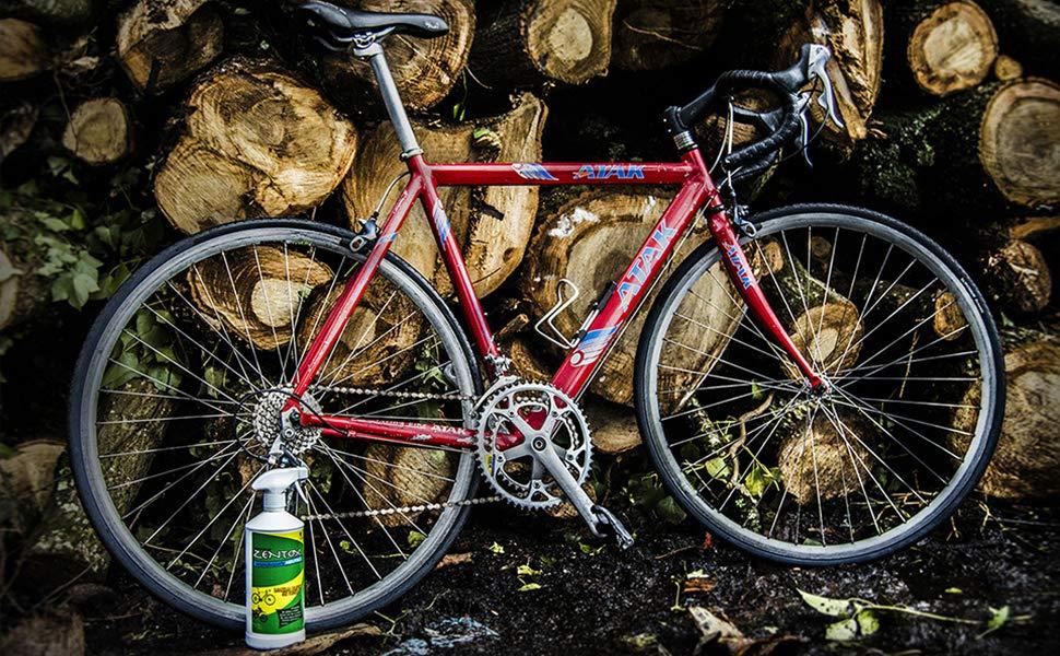 Sisbrill Zentox Desengrasante Neutro Concentrado para Bicicleta ...
